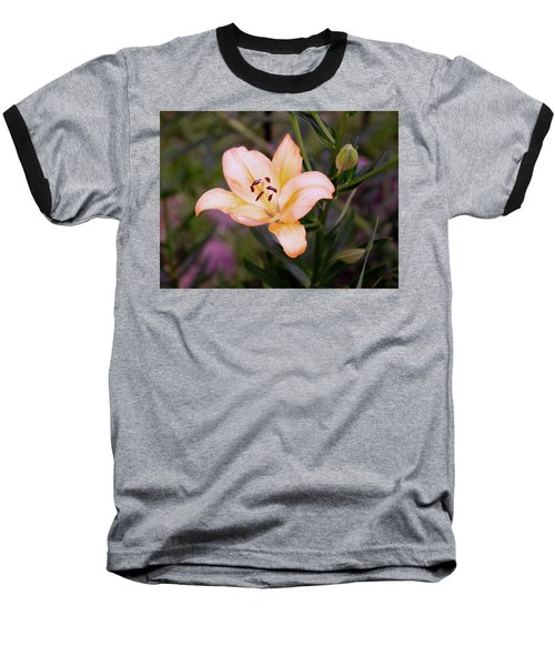 Asiatic Lilly Baseball T-Shirt