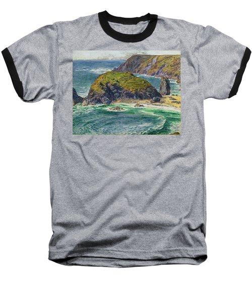 Asparagus Island Baseball T-Shirt by William Holman Hunt