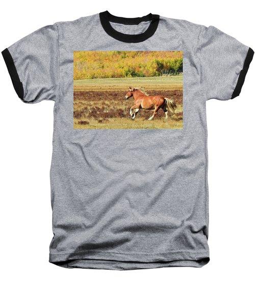 Aspen And Horsepower Baseball T-Shirt