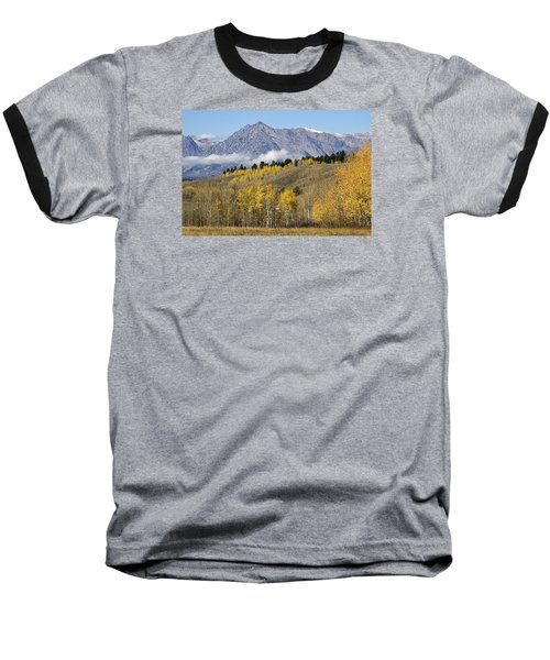 Aspen Colours Baseball T-Shirt by Shirley Mitchell