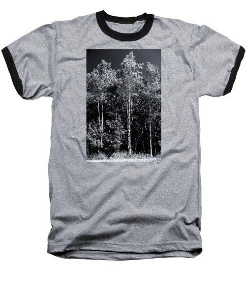 Aspen Drama Baseball T-Shirt by Shelly Gunderson