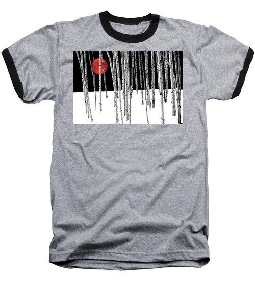 Baseball T-Shirt featuring the photograph Aspen Grove Winter by Juli Scalzi