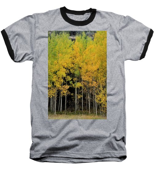 Baseball T-Shirt featuring the photograph Aspen Haven  by Ron Cline