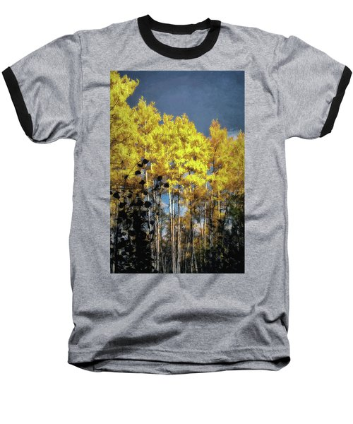 Aspen Impressions Baseball T-Shirt by Jim Hill