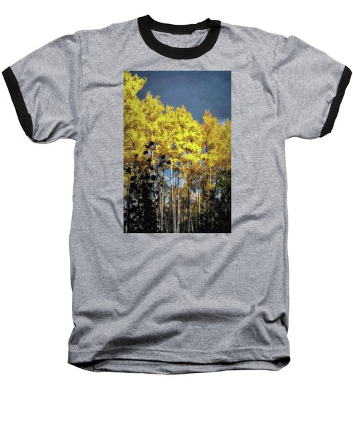 Baseball T-Shirt featuring the photograph Aspen Impressions by Jim Hill
