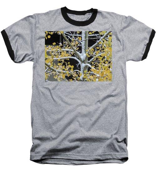 Aspen Snow Baseball T-Shirt