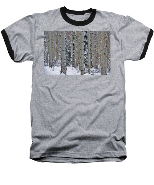 Aspen Snow Baseball T-Shirt