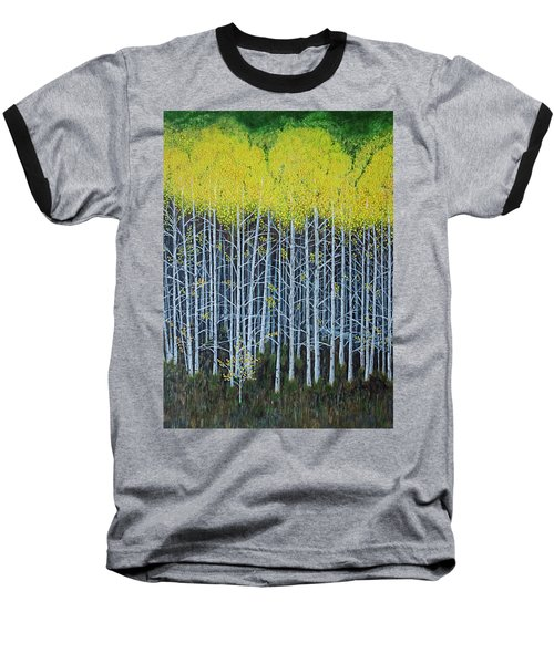 Aspen Stand The Painting Baseball T-Shirt