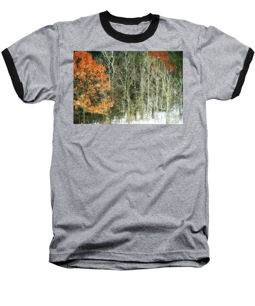 Aspens And Color Baseball T-Shirt