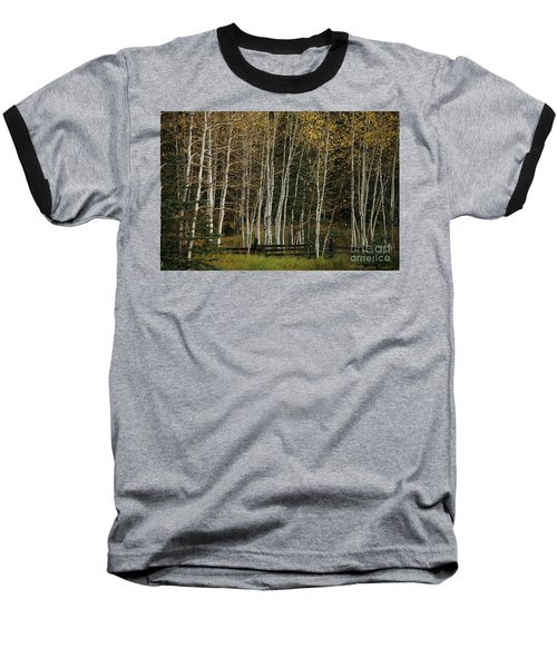 Aspens In The Fall Baseball T-Shirt