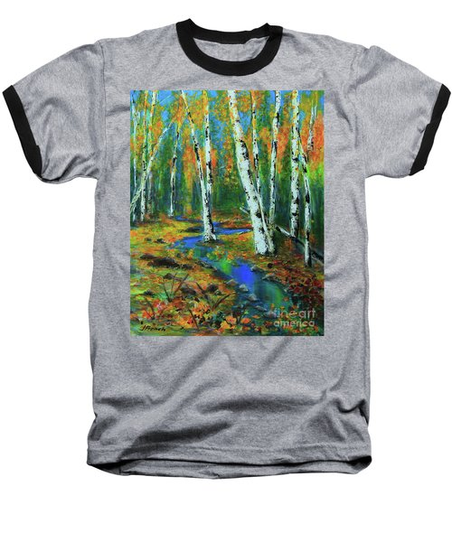 Aspens Baseball T-Shirt by Jeanette French