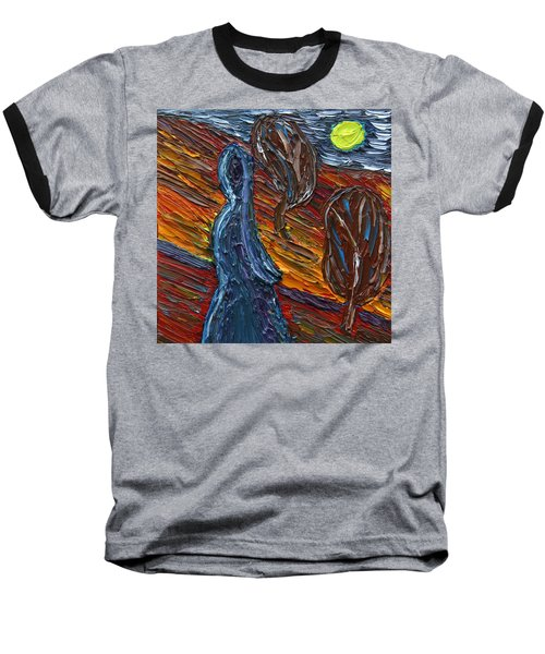 Baseball T-Shirt featuring the painting Aspiration by Vadim Levin