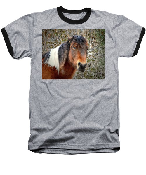 Assateague Island Pony Patricia Irene Baseball T-Shirt