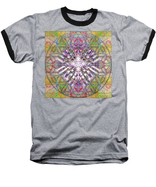 Assent From The Womb In The Flower Tree Of Life Baseball T-Shirt by Christopher Pringer