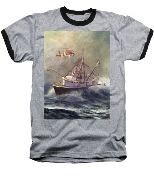 Baseball T-Shirt featuring the painting Assessment by Stephen Roberson