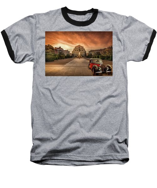 Assignation Baseball T-Shirt by Marty Garland