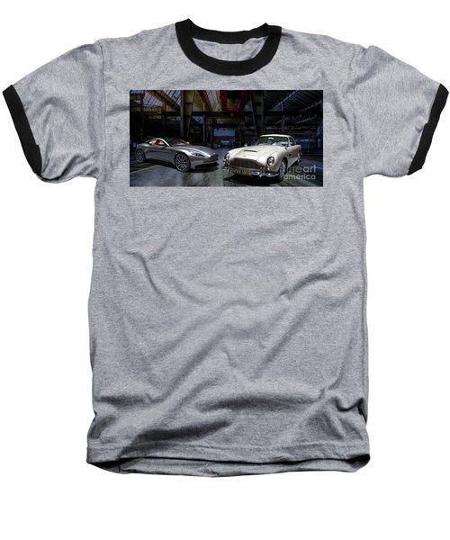 Aston Martin Db5 Db11 Baseball T-Shirt