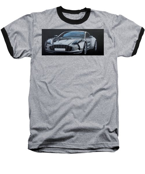 Aston Martin One-77 Baseball T-Shirt