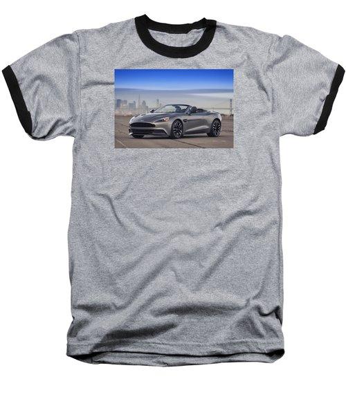 Aston Vanquish Convertible Baseball T-Shirt
