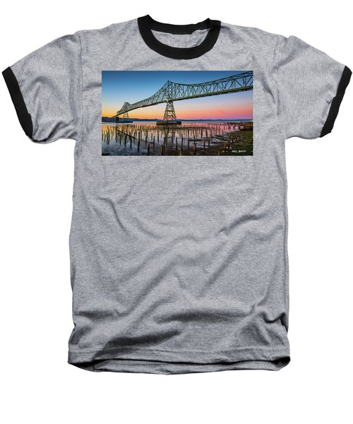 Astoria Megler Bridge Baseball T-Shirt