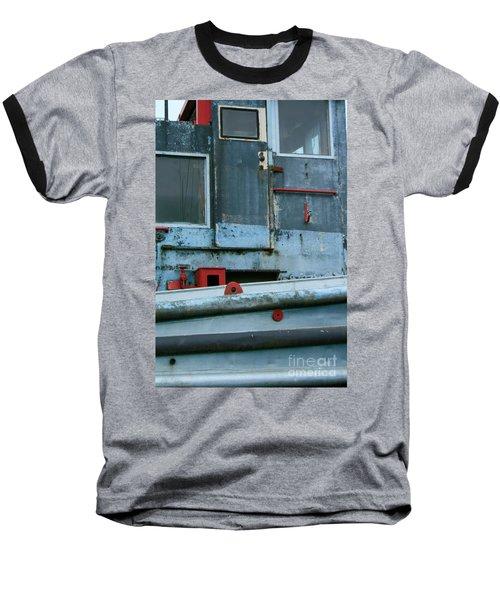 Astoria Ship Baseball T-Shirt by Suzanne Lorenz