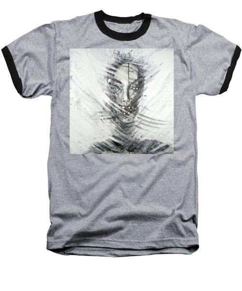 Astral Weeks Baseball T-Shirt by Jarko Aka Lui Grande