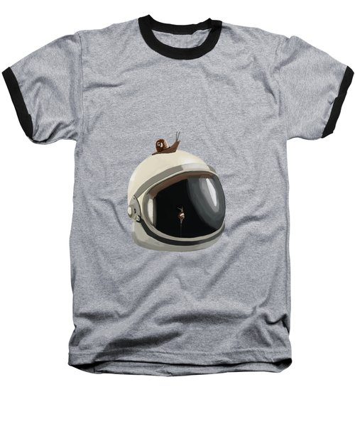 Astronaut's Helmet Baseball T-Shirt
