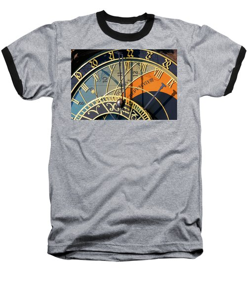 Astronomical Clock Prague Baseball T-Shirt