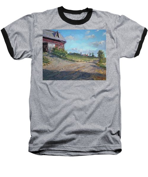 At Barn In Georgetown On Baseball T-Shirt
