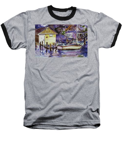 At Boat House 3 Baseball T-Shirt
