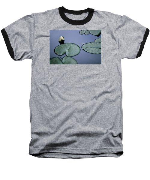 Baseball T-Shirt featuring the photograph At Claude Monet's Water Garden 2 by Dubi Roman