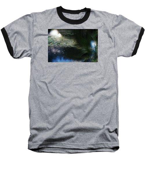 Baseball T-Shirt featuring the photograph At Claude Monet's Water Garden 3 by Dubi Roman