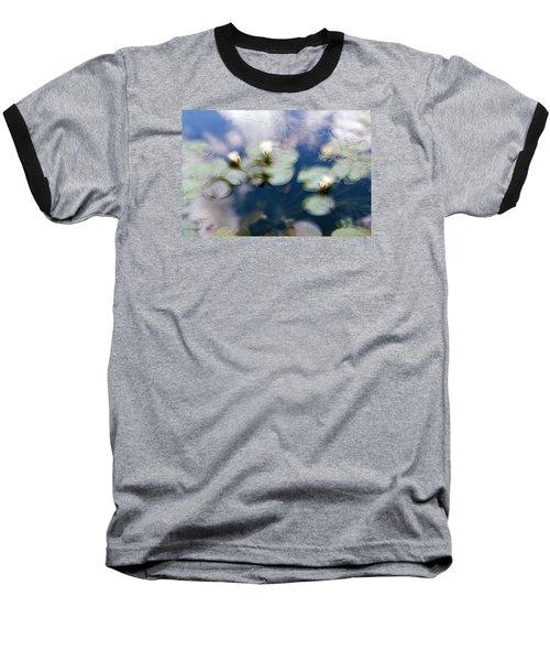 At Claude Monet's Water Garden 4 Baseball T-Shirt by Dubi Roman
