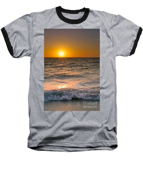At Days End Baseball T-Shirt by Kym Clarke