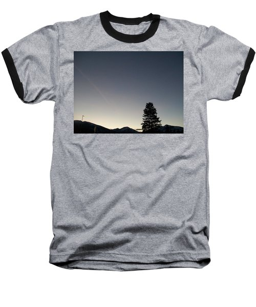 At Dusk Baseball T-Shirt by Jewel Hengen