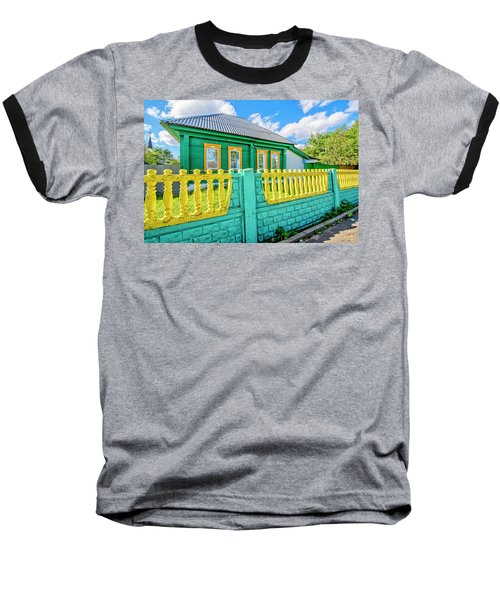 At Home In Belarus Baseball T-Shirt