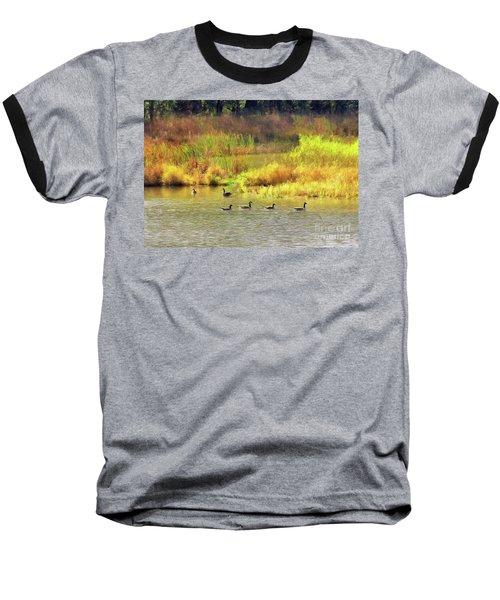 At Home In Monee Baseball T-Shirt