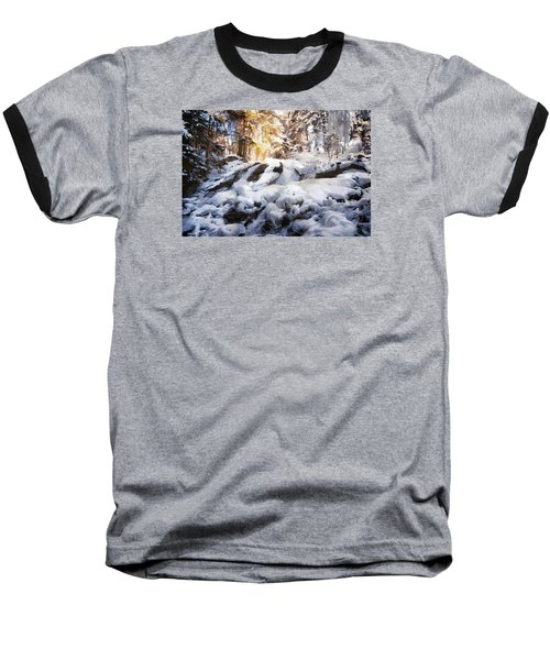 At Last Winter Arrived Baseball T-Shirt by Gun Legler
