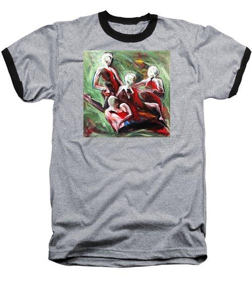 At Liberty Baseball T-Shirt by Helen Syron