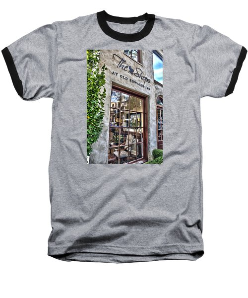 Baseball T-Shirt featuring the photograph at Old Edwards Inn by Allen Carroll
