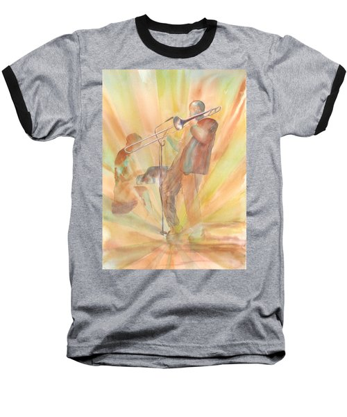 At One With The Music Baseball T-Shirt