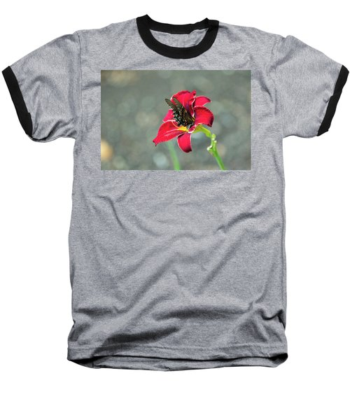 At One With The Orchid 2 Baseball T-Shirt