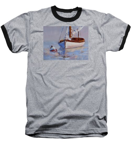 At Rest Baseball T-Shirt by Trina Teele