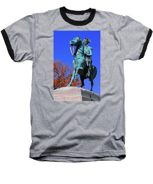 At The Battle Of Princeton Baseball T-Shirt by Iryna Goodall