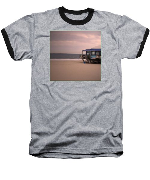 At The Beach Baseball T-Shirt by Desline Vitto