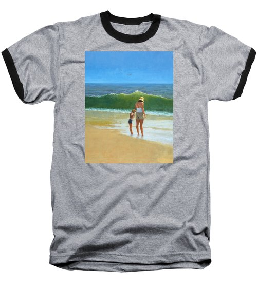 At The Beach Baseball T-Shirt
