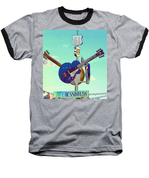At The Crossroads Baseball T-Shirt