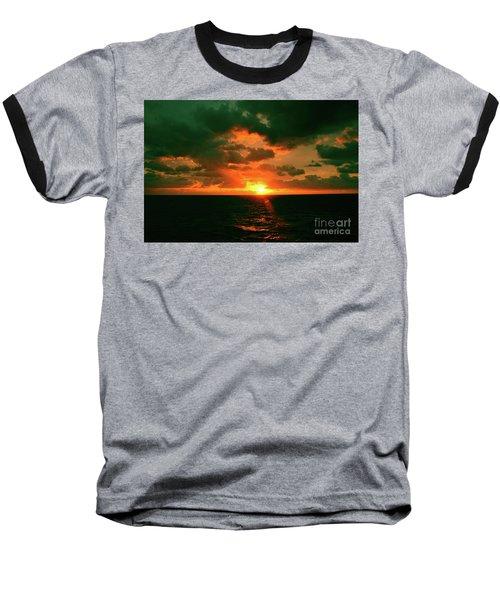 At The Edge Of Night Baseball T-Shirt