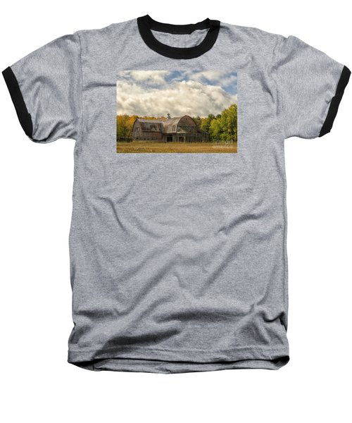 At The Edge Of The Medow Baseball T-Shirt by JRP Photography
