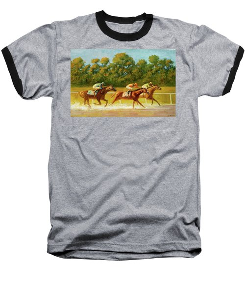 At The Finish Line Baseball T-Shirt